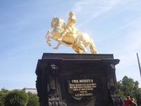 Cavaliere dorato Augusto il Forte