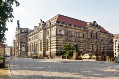 Staatliche Kunstsammlungen Dresden, Dokumentation Fertigstellung Albertinum,
