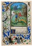San Giorgio uccide il drago, Maestro del libro delle preghiere di Dresda